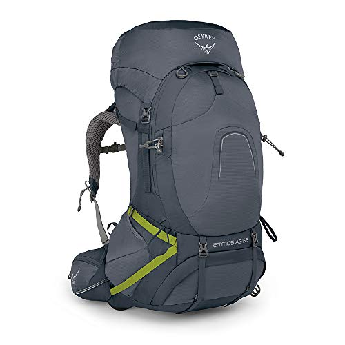 Osprey Europe Atmos AG 65 Men's Backpacking Pack - Abyss Grey (LG)