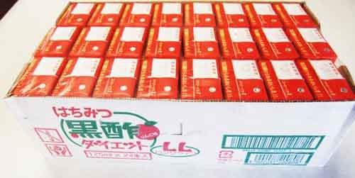 タマノイ はちみつ黒酢ダイエット 24本×6箱