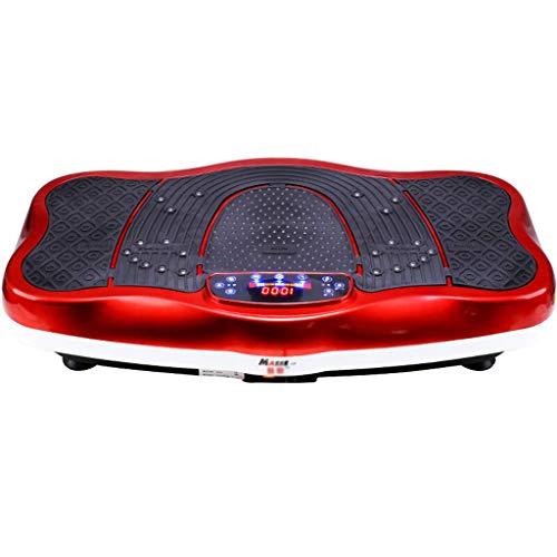 PPSZQ Vibrationsplatte Rüttelplatte Sport, Bluetooth/USB-Musik-Player Mit Doppeltem Verwendungszweck Ganzkörper-Shake Verlieren Sie Gewicht Und Körper Im Fitnessstudio, Zu Hause Und Im Büro