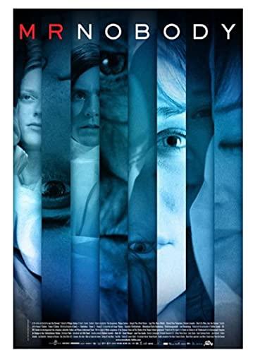 ミスターノーバディレトロヴィンテージクラシック映画ポスターポスター装飾壁キャンバス絵画家の装飾ギフト-50x75cmフレームなし