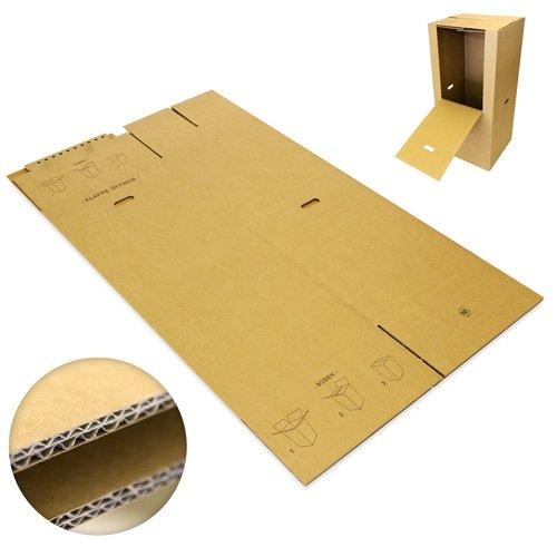 2 Kleiderboxen Spedition 2.60 BC Welle 600 x 510 x 1350mm - 5
