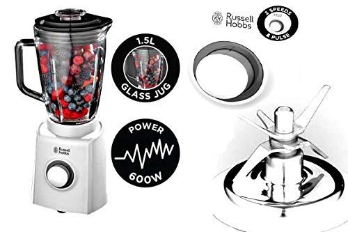 Russell Hobbs Essential 18993 Standmixer Mixer Blender 600 Watt 1,5 Liter 2 Geschwindigkeiten