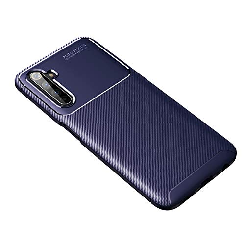 UBERANT Realme 6i Case, Carbon Fibe…