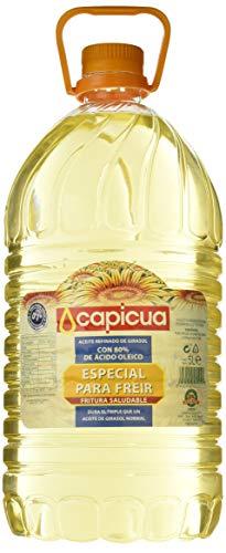 Capicua Aceite Refinado de Girasol, 5L