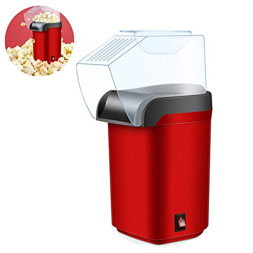 Check Out This NLYWB Electric Hot Air Popcorn Popper, Oil-Free Corn Machine, Transparent Protective ...