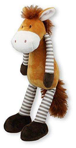 Inwolino 7743 - Kuscheltier Schlenkerpferd, 32 cm, Schmusetier, Schlenkertier, Pferd