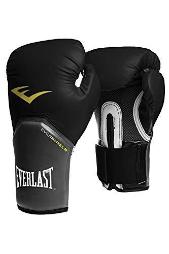 Everlast Boxhandschuhe Elite Pro Style schwarz rot blau weiss pink 8 10 12 14 16 Oz (schwarz, 12 Oz)