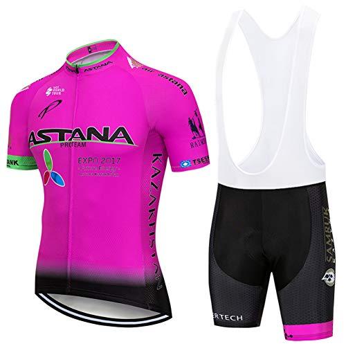 Hplights Ciclismo Conjunto de Ropa, Maillot Ciclismo y Culotte Pantalones Cortos con...