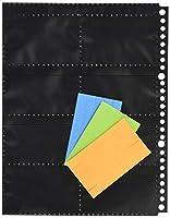 コレクト 名刺カードポケット<黒>B5-L 26穴 CF-5200