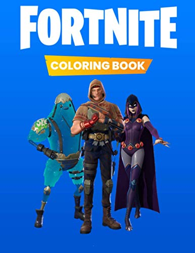 Fortnite Coloring Book: New 25 premium coloring pages for fortnite Primal for kids and adults all new season 6 primal battle pass skins unique illustrations (Unofficial)