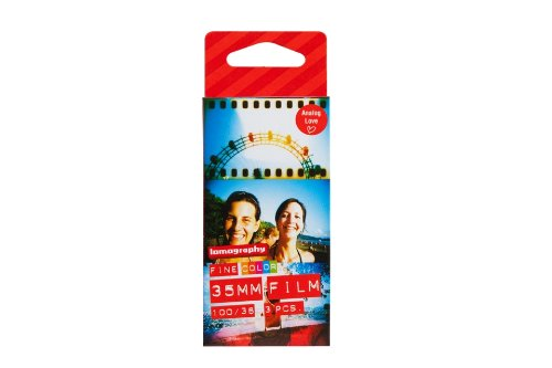 Lomography Color Negative 100 ISO 35mm Pack de 3