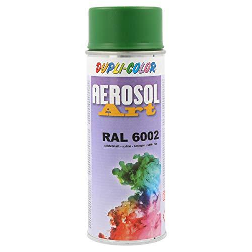 DUPLI-COLOR 666513 Aerosol Art Sprühdosen 400 ml, RAL 6002 Seidenmatt