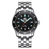 PHOIBOS Wave Master PY010C 300M Automatic Dive Watch Black…