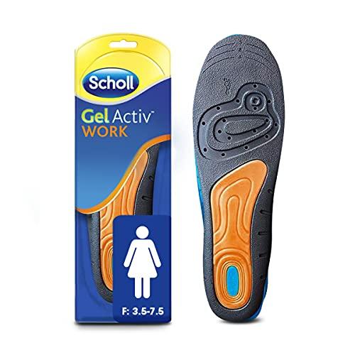 Scholl Women'S Gel Activ Work Insoles UK Size 3.5-7.5