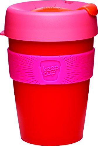 KeepCup Grande tasse de voyage en polypropylène, Plastique, Red and Pink, 35 cl