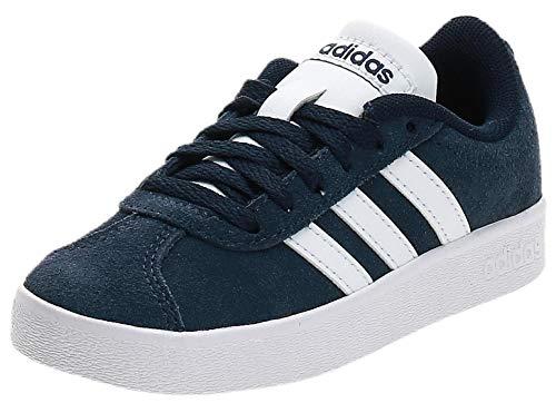 Adidas Vl Court 2.0 K, Zapatillas de deporte Unisex niños, Azul (Maruni/Ftwbla/Ftwbla 000), 34 EU