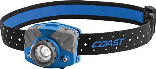 Coast - 20617 COAST FL75R Rechargeable 530 Lumen Dual Color Focusing LED Headlamp, Blue Blue