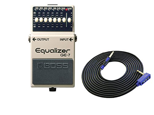 BOSS コンパクトエフェクター Equalizer GE-7 + 3m ギターケーブル VOX VGS-30 セット