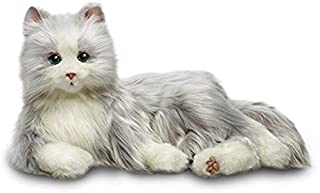 Joy for All Robotic Reclining Silver Grey Cat - for Ages 2 to 102