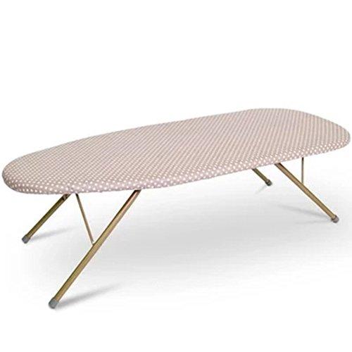 LWXTYFoldable Steel Top Table Top Strijkplank, Hoge temperatuur Extra Stabiele Benen Draagbaar en Gemakkelijk Te Accepteren Klein Strijkplank