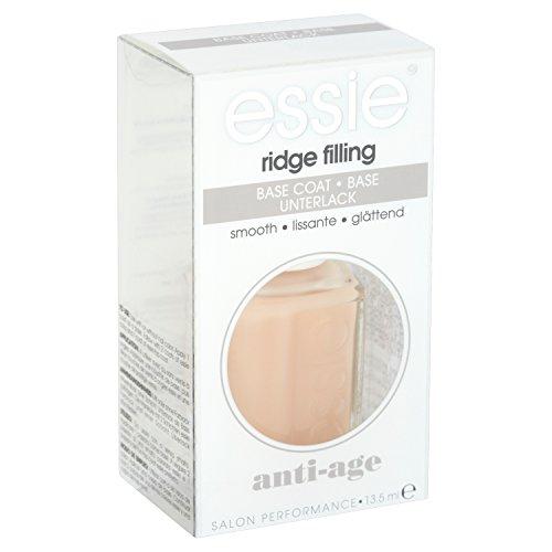 essie Unterlack ridge filling / Schützender Base Coat für flache, ebenmäßige Nägel, füllt Rillen auf, Anti Aging für die Nägel, 1 x 13,5 ml