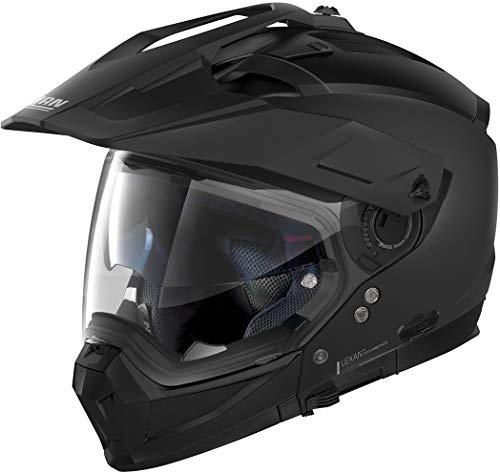 Nolan N70-2 X Classic N-Com Helm Schwarz Matt M (58)