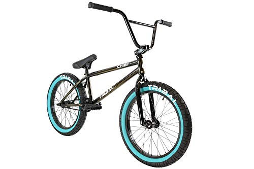 Tribal Chief Bicicleta BMX de color ahumado