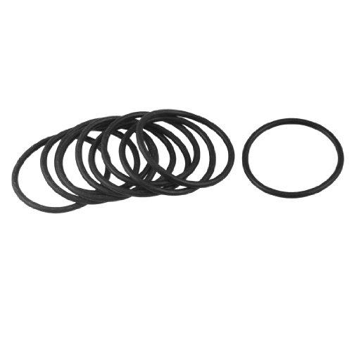 49mm x 42.8mm x 3.1mm Gummidichtung Ölfilter O-Ringe Dichtungen 10PCS