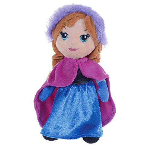Frozen Anna Elsa Peluche 30 cm, doudou Reine des Neiges Disney