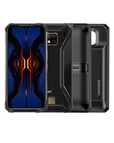 DOOGEE S95 Pro Super Module 2020 Rugged Unlocked Smartphones, 4G Helio P90 8GB+128 IP68 Waterproof Rugged Cell Phones Dual SIM Android 9.0, 48MP+8MP+8MP+16MP AI Camera, 6.3 inch, 5150mAh+3500mAh, NFC