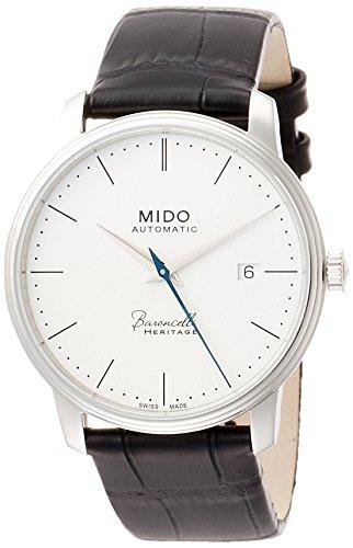 Mido Herren Analog Automatik Uhr mit Leder Armband M0274071601000