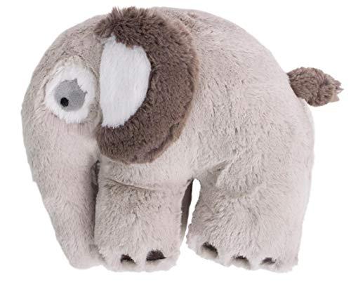 Sebra Animales de peluche de fantasma del elefante, Feather beige.