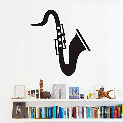 Tianpengyuanshuai Saxophon Musikinstrument Applique Wandkunst Schlafzimmer Musik Raum Vinyl...
