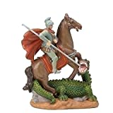 "Patrons and Saints St. George Made of resin Introduced 2006 Dimensions: 3.5"" H"