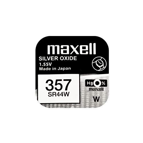 MAXELL dynamische Leistung - SR44W - Knopfzelle, Taschenrechner/Uhr, SR44W, 357 - 1 Stück