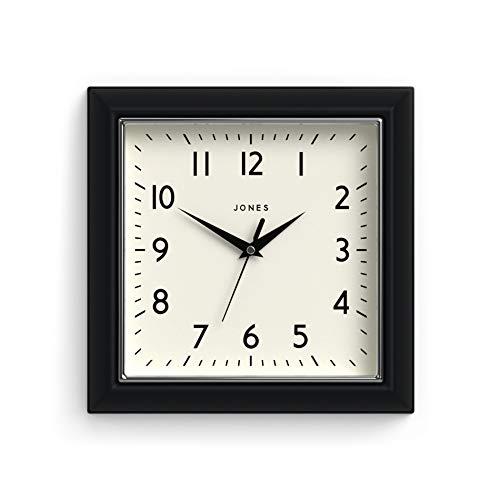 Jones Clocks | Reloj Mostaza | Negro