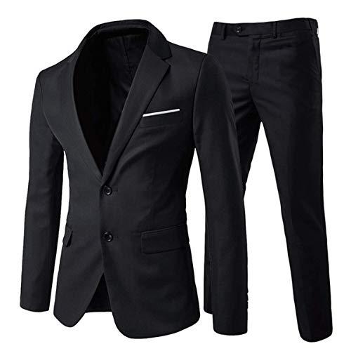 Anzug Herren Anzug 2 Teilig Slim Fit Herrenanzug Hochzeit Anzüge Herren Modern Sakko für Business