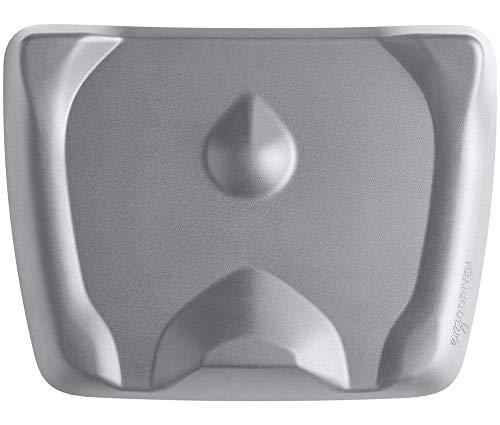 Topo Mini by Ergodriven | The Smaller Not-Flat Standing Desk Anti-Fatigue Mat with Calculated Terrain (Altostratus Grey)