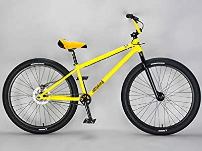 "Mafiabikes Yellow Blackjack Medusa 26"" BMX Wheelie Bike Wheelie Bike"