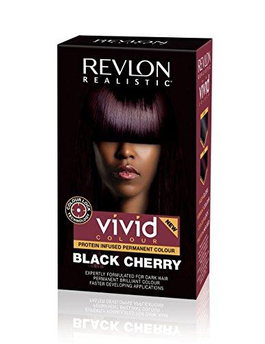 Revlon Realistic Vivid Colour Permanent Colour Black Cherry