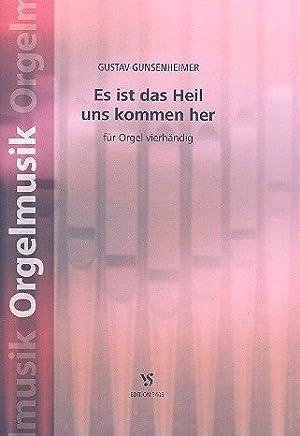 ES IST Das Heil Uns Kommen Her: per organo a 4mani