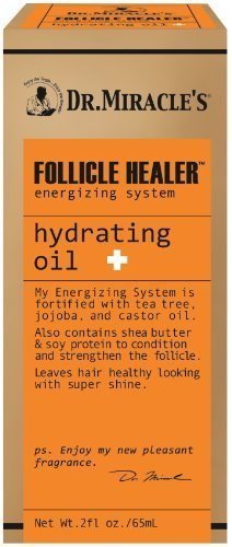 Dr. Miracles Follicle Healer Hydrating Oil 2oz (2 Pack) by Dr. Miracle