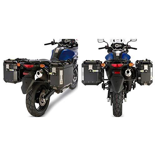 Givi - Portavalige Lateral para Maletas monokey CAM-Side Trekker Outback pl3101cam para Suzuki DL 650 v-Strom 2013 l2 2011, 2012