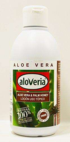 Aloveria pures Aloe Vera Gel mit Kanarische Palme Juice 250ml