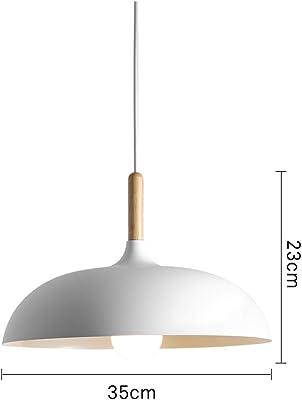 40W 40cm Tapa minimalista Personalidad Creativa semi-circular de la lámpara de hierro forjado de una sola cabeza restaurante Living Room Hotel Lámparas (Negro) Luz pendiente Candelabro: Amazon.es: Iluminación