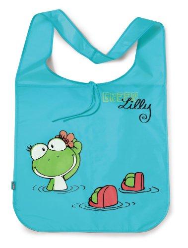 Nici 35457 - tas kikker, Green Lilly, polyester