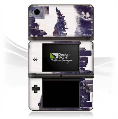 DeinDesign Skin kompatibel mit Nintendo DSi XL Folie Sticker Stadt Sonnenbrille Art