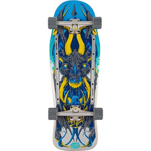 Santa Cruz Winkowski Primeval 80s Cruzer Komplett-Skateboard, Mehrfarbig, 26 x 76 cm