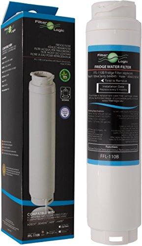 FilterLogic FFL-110B Wasserfilter ersetzt UltraClarity 00740560, 740560/644845 Filter für BOSCH SIEMENS NEFF GAGGENAU MIELE HAIER Kühlschränke - Ultra Clarity 9000733786, VIB-Z4500W0