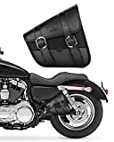 Motorcycle Swingarm Bag, Side Tool Bag for Sportster Street 750 Synthetic Leather